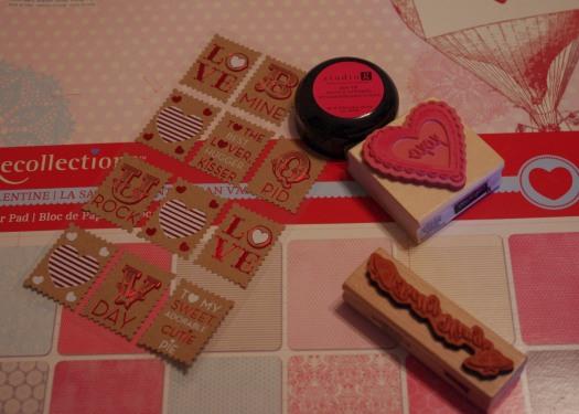 Valentine stampers
